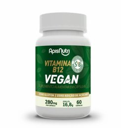 Vitamina B12 Vegan 280mg (60 caps)